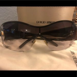 Grey Armani sunglasses